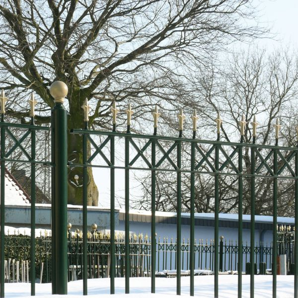 Zaunelement - Metallzaun Parkallee Classic Lilie H: 120cm