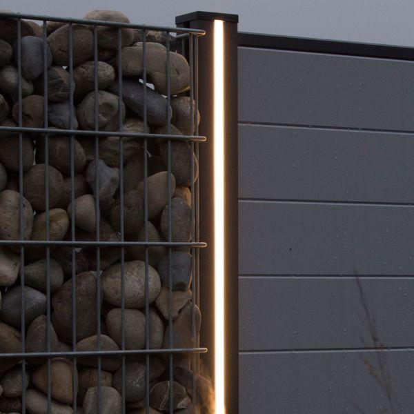 Lichtleiste LED für Steckpfosten