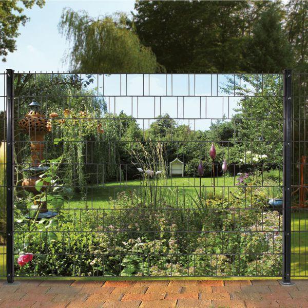 Sichtschutzstreifen bedruckt, Motiv Garten