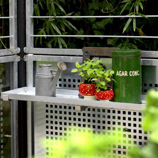 Metall-Regal zum Einhängen Cubic, verzinkt