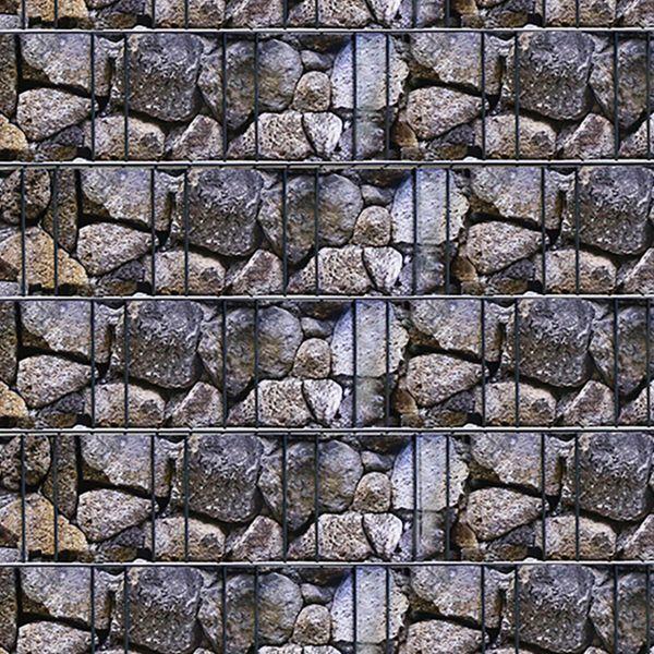 Sichtschutzstreifen PVC Flex, Motiv Old Stone