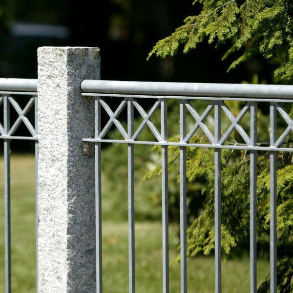 Zaunelement - Metallzaun Parkallee H: 120cm