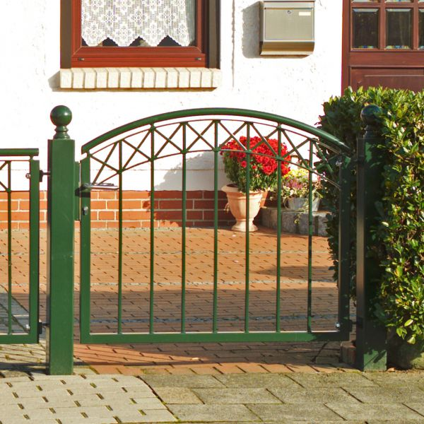 Friesenpforte - Metallzaun Parkallee H: 120cm