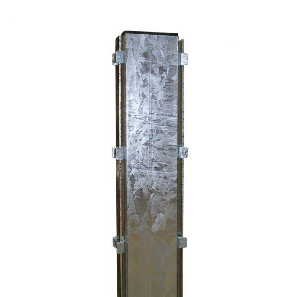 Pfosten für Steinmauer-Gabionen 100 cm, feuerverzinkt
