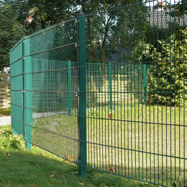 Doppelstabmatte 120cm, grün