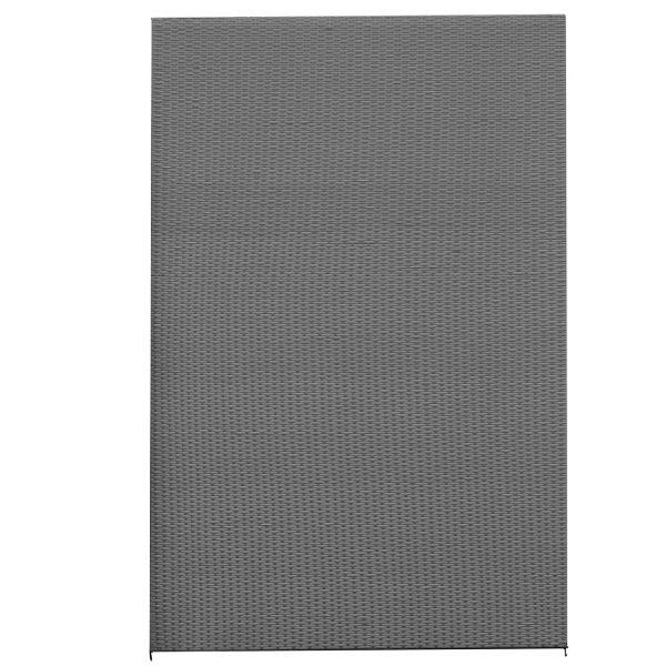 Sichtschutzwand Kunststoff-Geflecht, Ambience grau