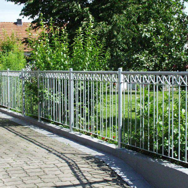 Zaunelement - Metallzaun Parkallee H: 150cm