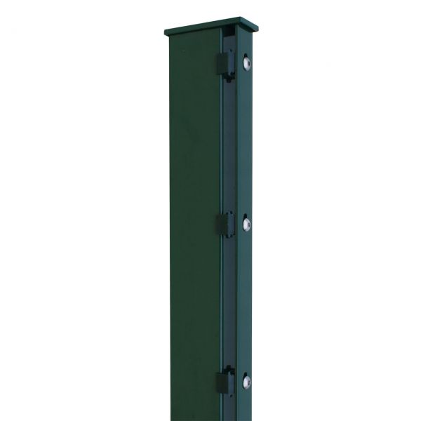 Zaunpfosten für Sichtschutzstreifen 160cm, grün