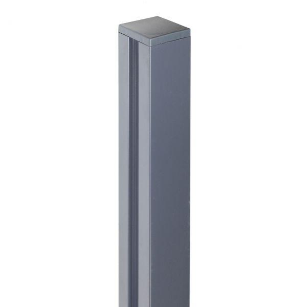 Alu-Pfosten 7x7 Bambus-Steckzaun YANG