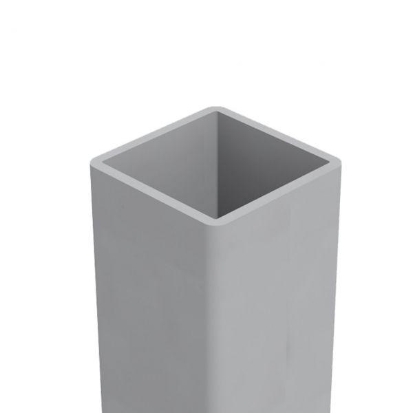ALU-Pfosten 6x6, matt, Einbetonieren
