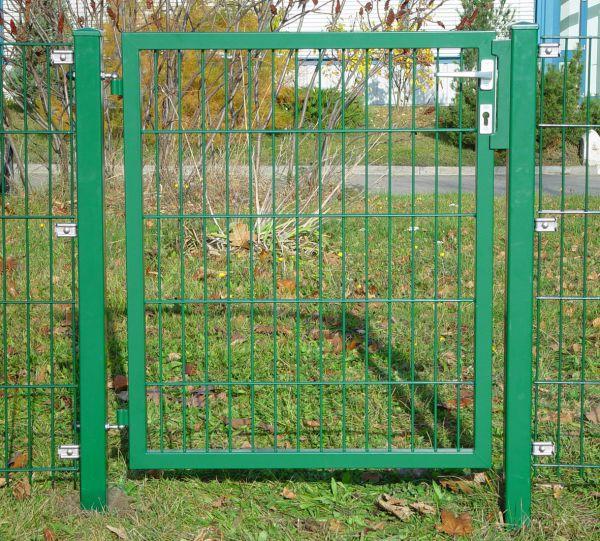 Gartentor Doppelstabmatte 60cm, grün
