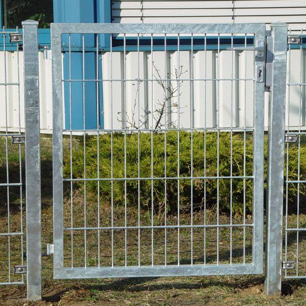 Gartentor Doppelstabmatte 60cm, verzinkt