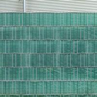 PE Sichtschutzstreifen Doppelstabmattenzaun, dunkelgrün Höhe x Länge:19 x 200 cm