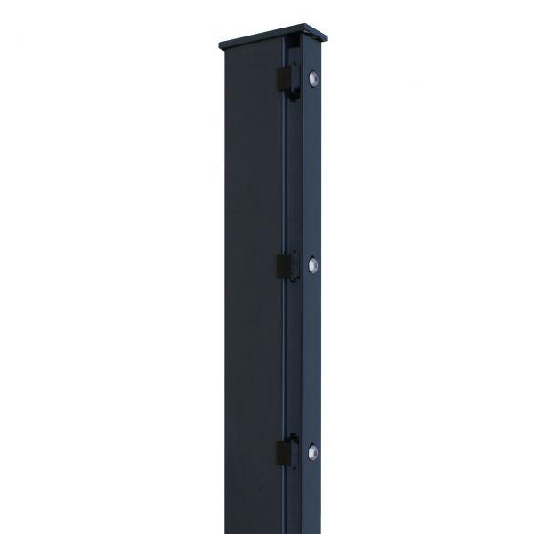 Zaunpfosten für Sichtschutzstreifen 160cm, anthrazit