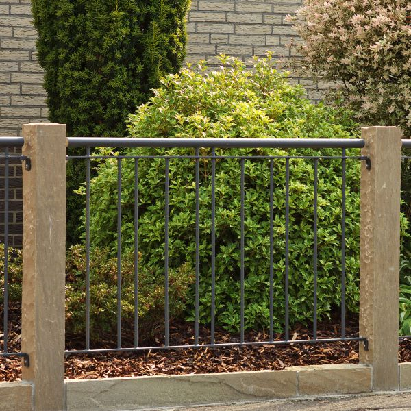 Zaunelement – Metallzaun Stadtweg H: 90cm