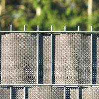Polyrattan-Sichtschutzstreifen, titangrau Höhe x Länge:19 x 200 cm