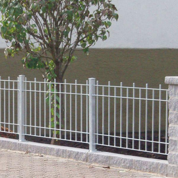 Zaunelement - Metallzaun Schloßstraße H: 90cm